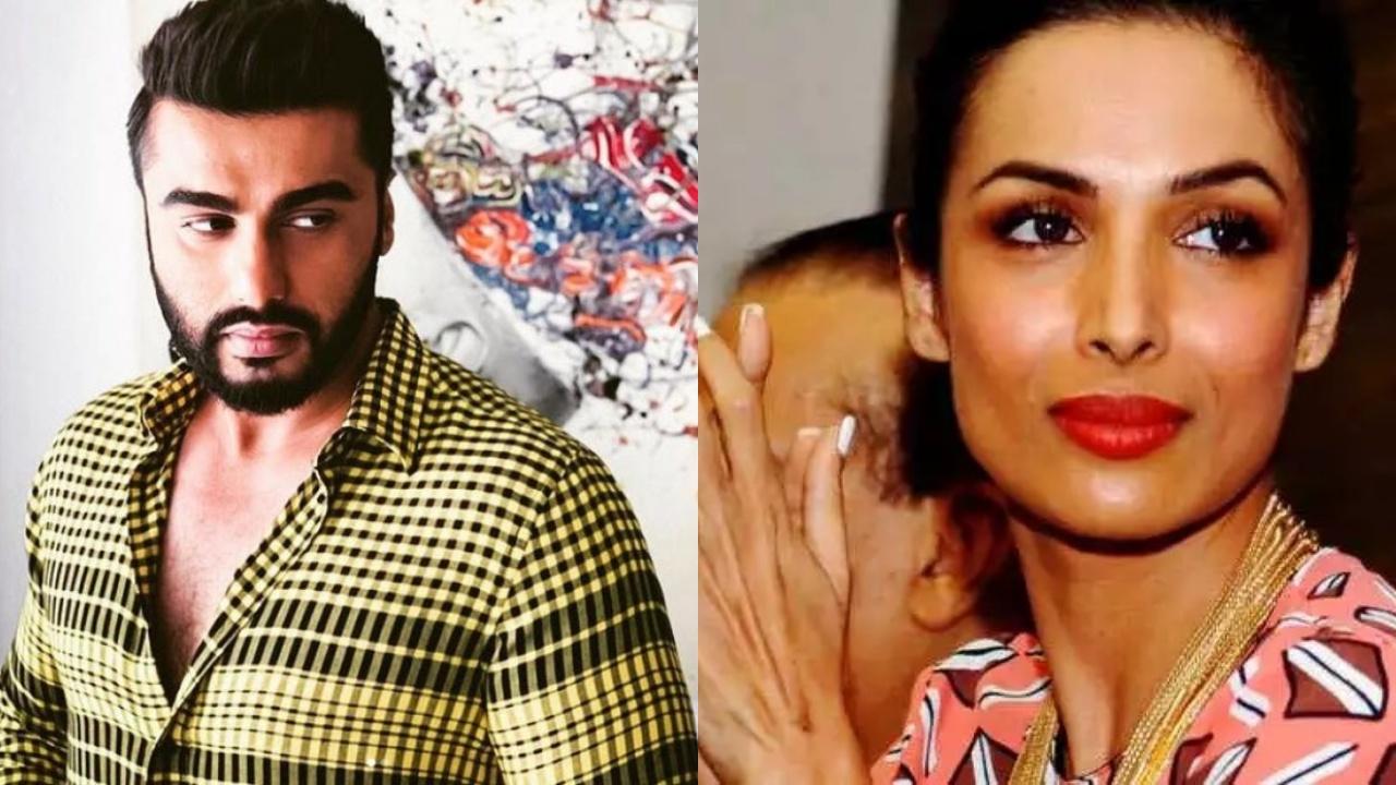 Arjun and Malaika with same post