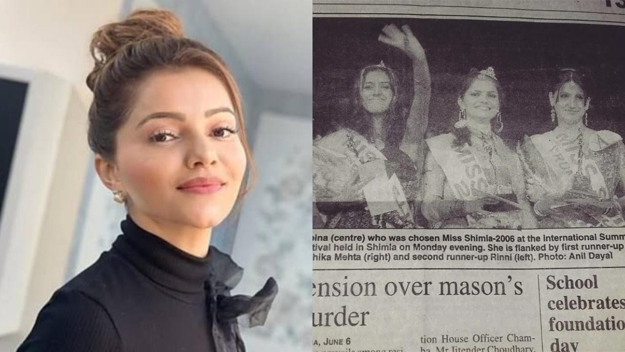 Rubina Dilaik journey from Miss Shimla to big boss-14