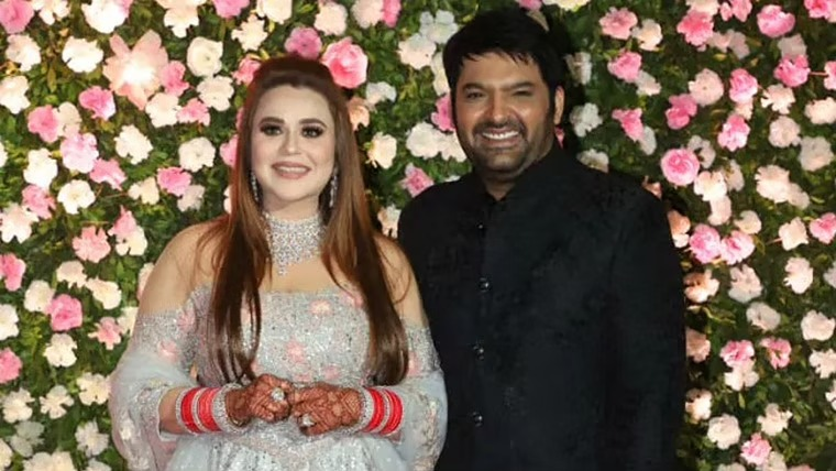 Kapil welcomed a baby boy