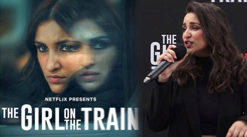 The girl on the train Parineeti Chopra