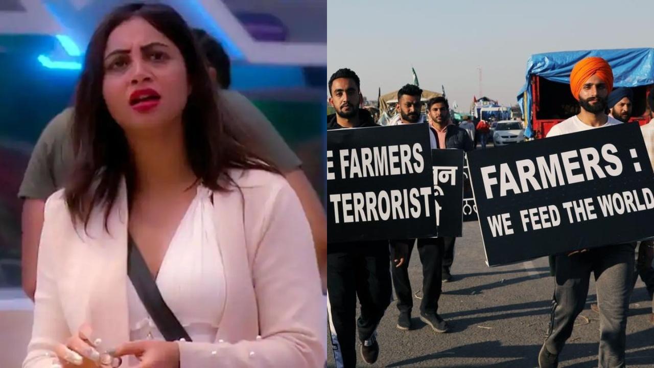 Arshi Khan on protesting farmers