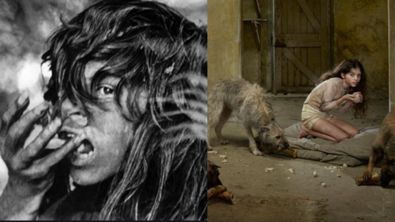 Real life Mowgli