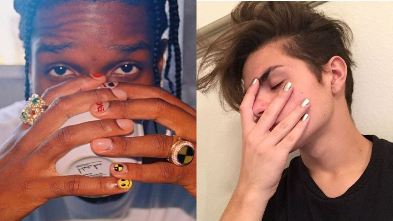 guys with nailpaint