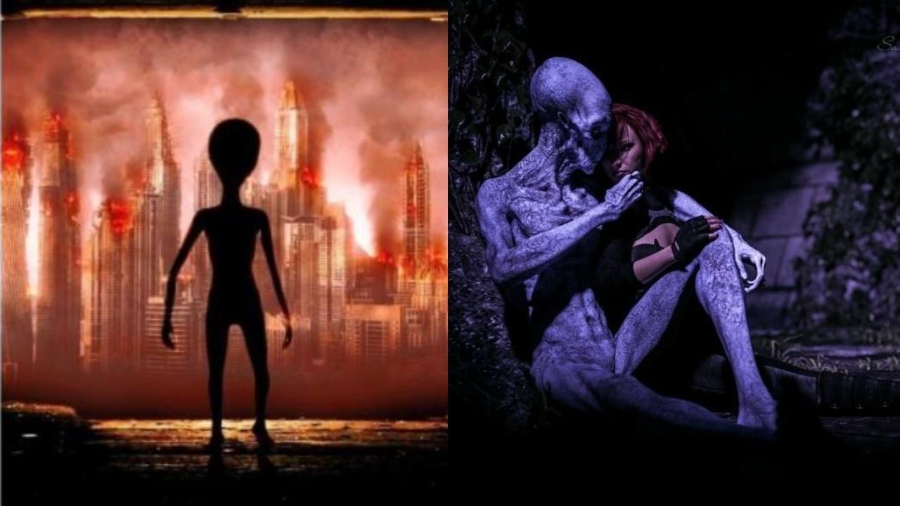 British woman dating alien