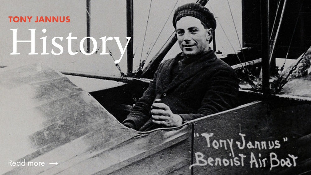 World's First Passenger Plane Tony Jannus