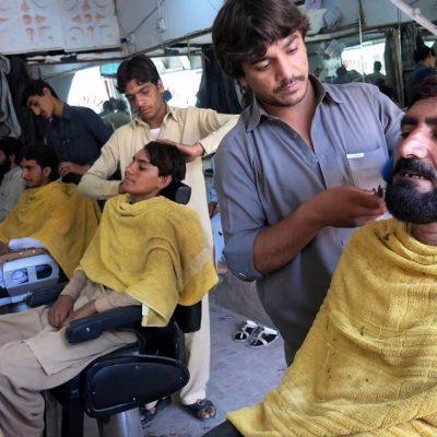Taliban Bans Haircut