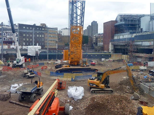 Construction Site Foreman job