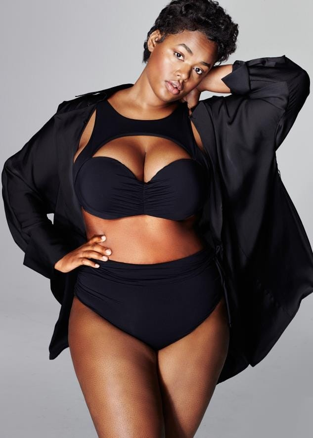 Precious Lee plus size model
