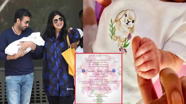Shilpa Shetty Blessed With A Baby Girl By Surrogacy