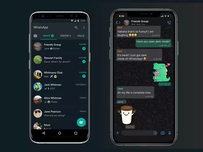 Whatsapp Dark mode launched on Android
