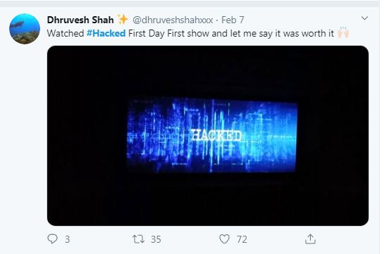 Hina Khan hacked