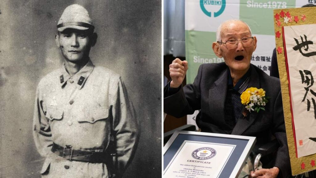Chitetsu Watanabe Oldest Living Male Person In The World