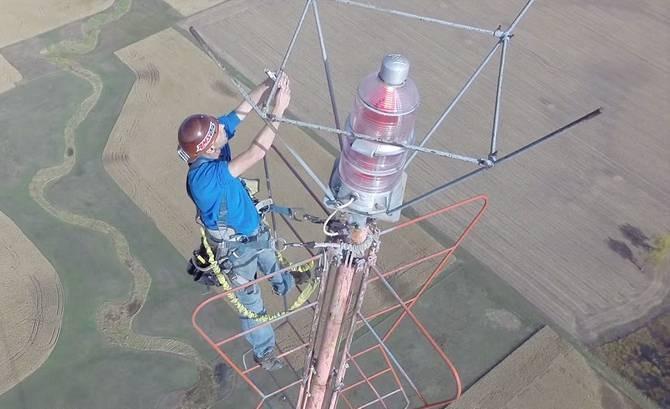 Communications-Tower Climbing job