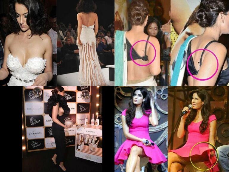 Top 10 Wardrobe Malfunction Of Bollywood Actresses