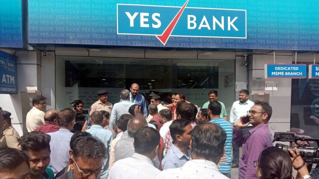 Yes bank crisis, yes bank latest news