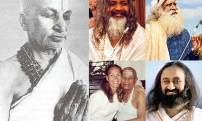 Most famous yoga gurus