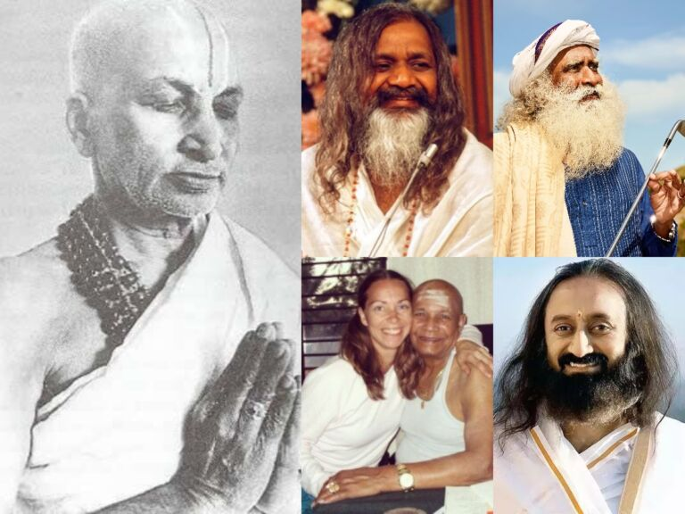 The Most Famous Modern Yoga Gurus Till Now You Should Know About