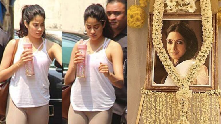 Jhanvi Kapoor Shares An Emotional Note In Isolation Remembering her Mom-Sridevi