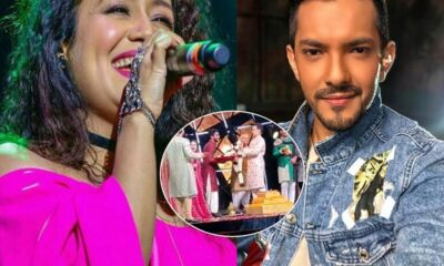 Neha Kakkar marries with aditya narayan
