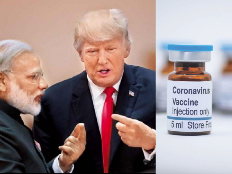 Trump Requests Hydroxychloroquine From PM Modi To Treat Coronavirus Patients In America
