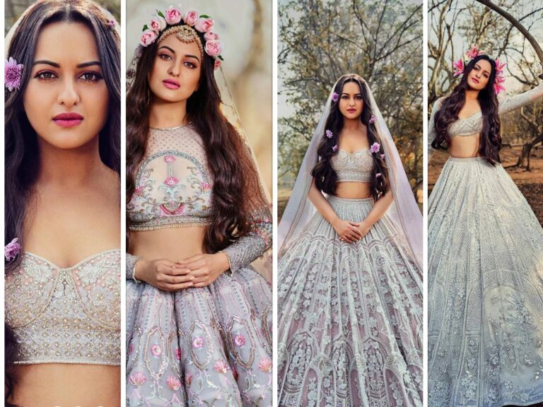 Sonakshi Sinha Shares Pictures Of Her Ethnic Gown On Social Media