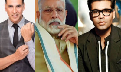PM Modi thanks to bollywood