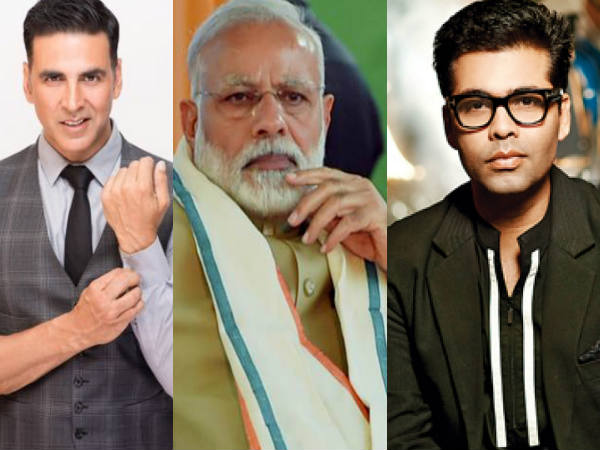 PM Modi Says Thanks To Akshay Kumar, Ajay Devgn, Kartik Aryan And And Other Bollywood Stars