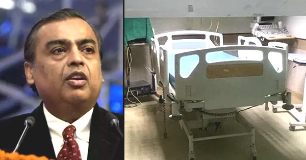 Reliance Sets Up India's First Hospital Dedicated Only To Coronavirus Patients