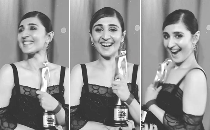 Singer Dhvani Bhanushali Wins  Listeners Choice Independent Award