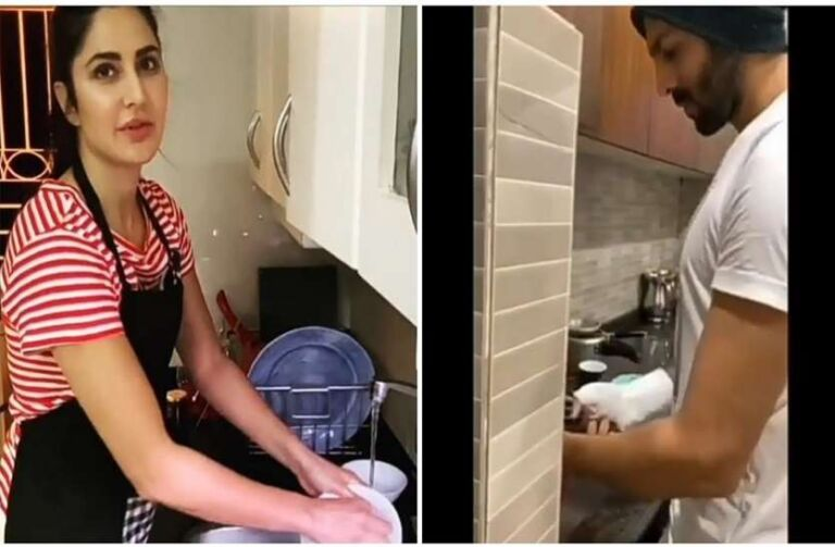 Bollywood Celebrities Doing Household Chores In Self-Isolation, Watch Video