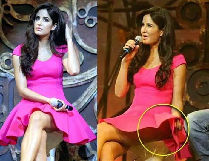 Katrina Kaif wardrobe malfunction