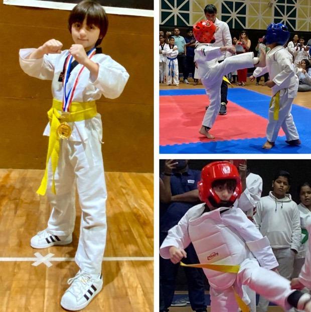 Shah Rukh Khan's son AbRam wins gold medal in Taekwondo