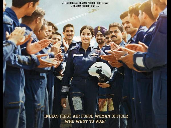 Gunjan Saxena The Kargil Girl: Karan Johar Reveals The Poster And Release Date