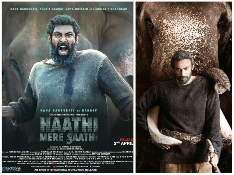 "UPCOMING! ""Haathi Mere Saathi"" Poster Released, Rana Dugubatti Dubs Film in Three Languages"