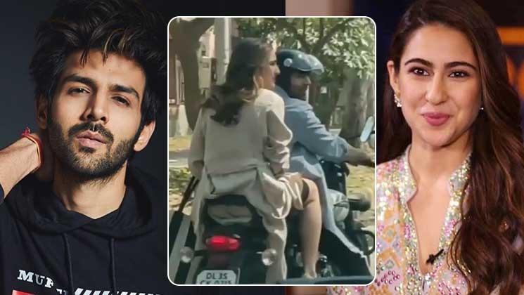 Kartik Aryan And Sara Ali Khan On Streets Of Mumbai:Viral Video