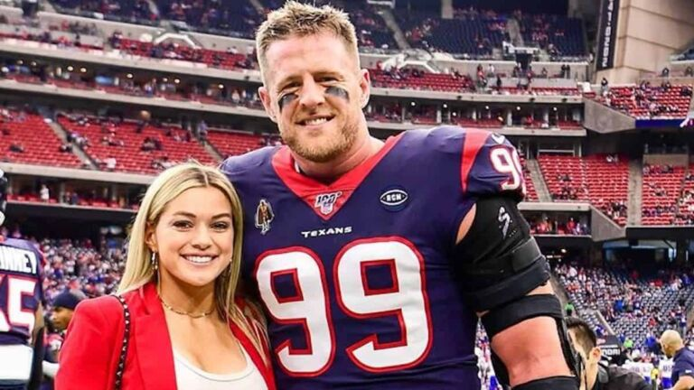 CONGRATULATIONS: NFL Star J.J. Watt Get Married Soccer Player Kealia Ohai