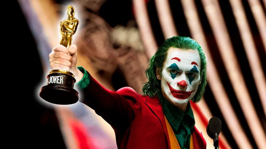 Image result for joker oscar