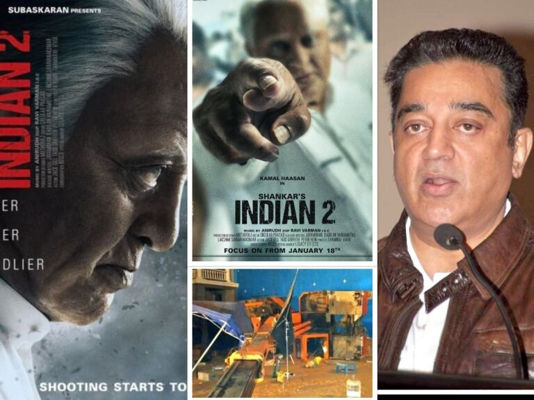 3 Dead In A Traumatic Accident On The Set Of Kamal Haasan's Movie 'Indian 2'
