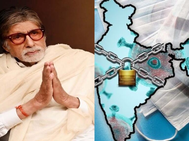 Amitabh Bachchan Pleads The People To Cooperate With Nation-Wide 21 Days Lockdown