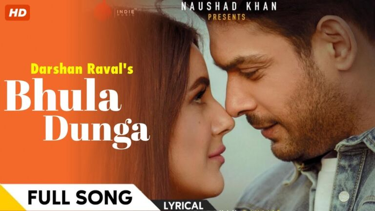 Siddharth Shukla and Shahnaz Gill Release Their First song: Bhula Diya