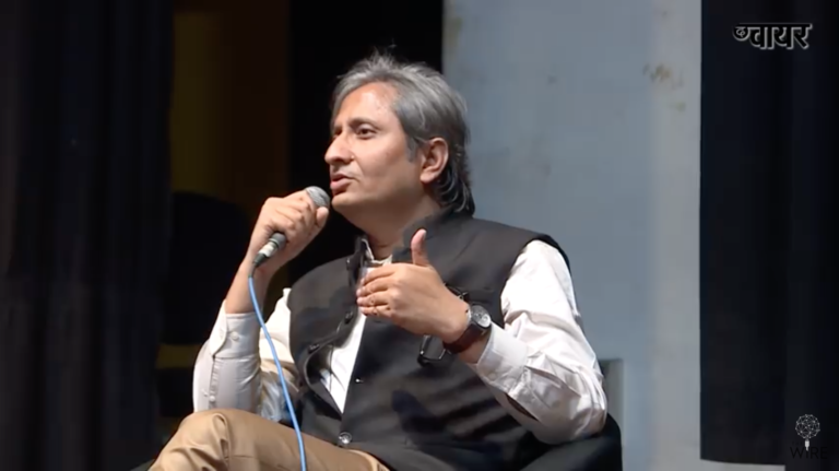 An Exclusive Interview with Ravish Kumar