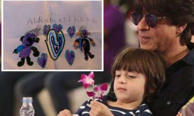 Shahrukh khan with abram