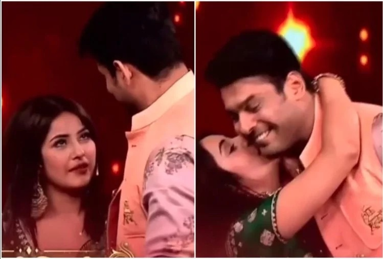Shehnaz Gill Hugs And Kisses Siddharth Shukla After Being Emotional In New Show