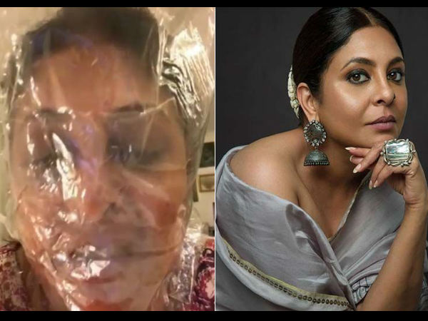 Shefali Shah Shares Creepy Video By Tying Her Mouth To 'POLYETHENE'
