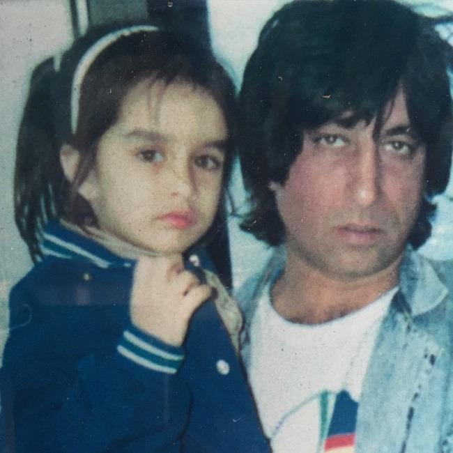 Shakti Kapoor with Shraddha Kapoor